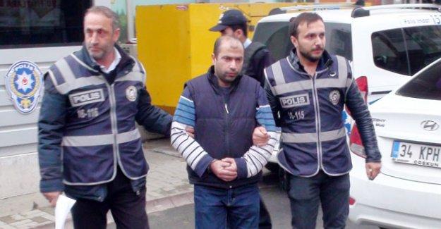 Tekmeci saldırgan yeniden tutuklandı