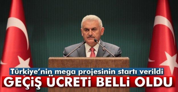 Türkiye'nin mega projesinin startı verildi