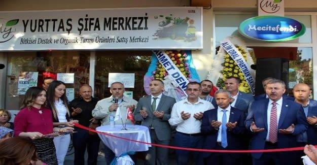 Yurttaş Şifa Merkezi Salihli'de açıldı