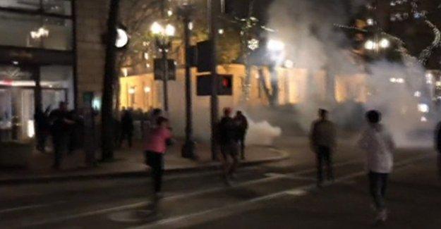 ABD'de Trump protestoları sürüyor
