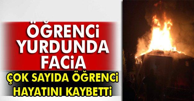 Adana'da kız öğrenci yurdunda yangın! Acı bilanço!