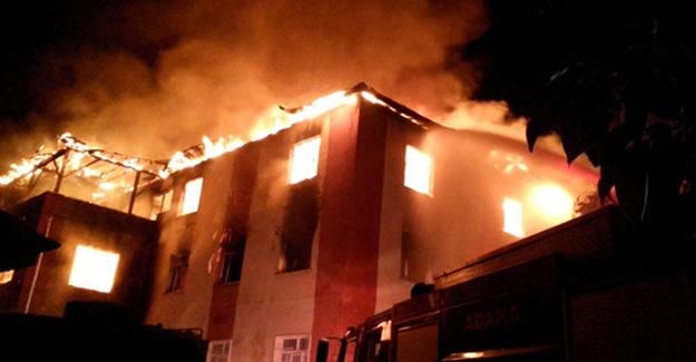 Adana'daki yangında yaralanan öğrencilerin isimleri belli oldu