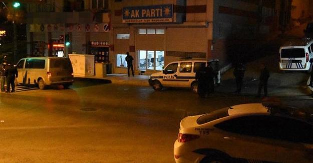 AK Parti binasına yönelik saldırıyla ilgili açıklama