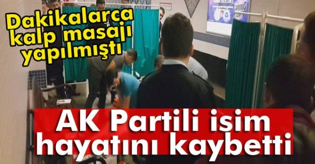 AK Partili İsim Hayatını Kaybetti