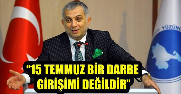 AK Partili Külünk: '15 Temmuz bir darbe girişimi değildir'