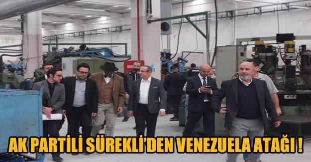 AK Partili Sürekli'den Venezuela Atağı !