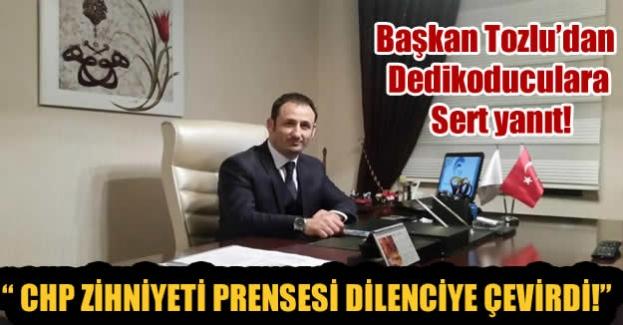 AK Partili Tozlu'dan o iddialara sert yanıt