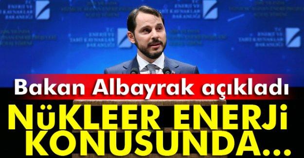 Bakan Albayrak'tan nükleer enerji açıklaması