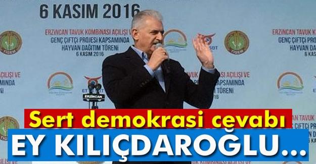 Başbakan'dan CHP Liderinin Çağrısına Yanıt: Ey Kılıçdaroğlu...