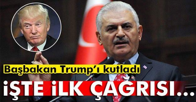 Başbakan'dan Trump'a 'Gülen' çağrısı
