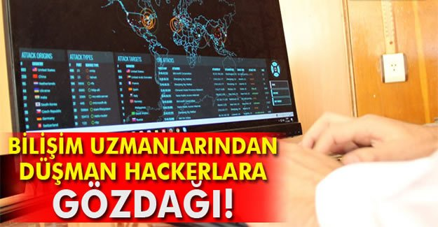 Bilişim uzmanlarından düşman hackerlara gözdağı
