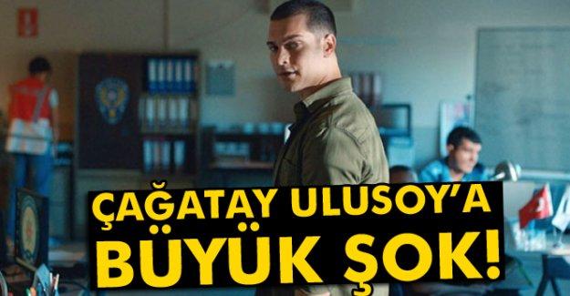 Çağatay Ulusoy'a büyük şok!