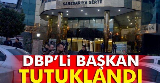 DBP'li Başkan Tutuklandı
