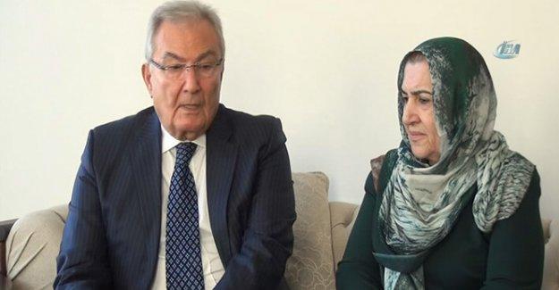 Deniz Baykal, Ahmet Türk'ün ailesini ziyaret etti