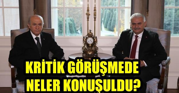 Devlet Bahçeli'den Başbakan Yıldırım'la görüşme açıklaması