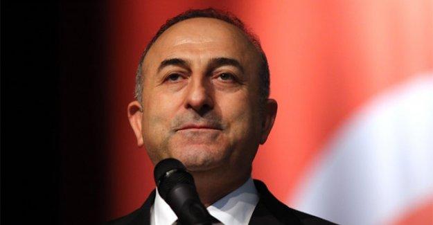 Dışişleri Bakanı Çavuşoğlu'nun yoğun telefon trafiği