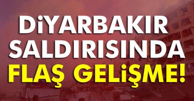 Diyarbakır saldırısında flaş gelişme!