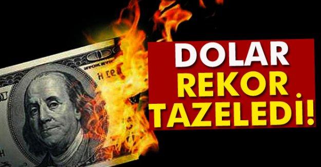 Dolar Rekor Tazeledi