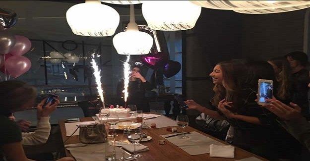 Ece Altıntop'un doğum günü coşkuyla kutlandı
