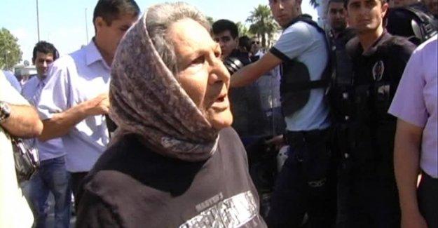 'Gezi' eylemcilerine tepki gösteren nineden kötü haber