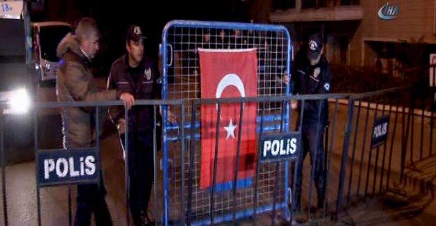 HDP Genel Merkezi'nde geniş güvenlik önlemi