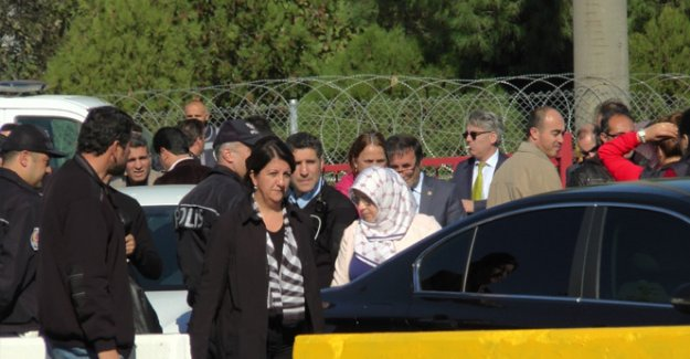 HDP'liler geri gönderildi