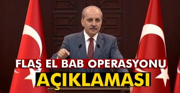 Hükümetten 'El Bab' açıklaması