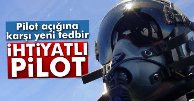 'İhtiyatlı pilot'lar geliyor