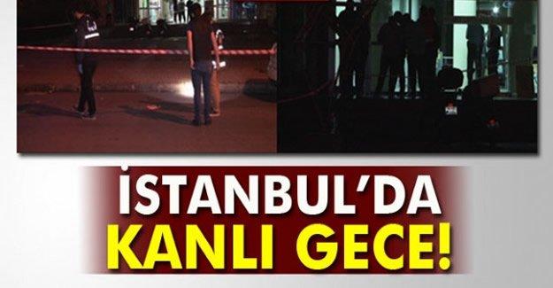 İstanbul'da silahlar konuştu: 3 yaralı