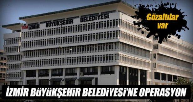 İzmir Büyükşehir Belediyesi'ne ByLock operasyonu