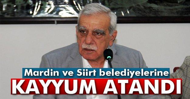 Mardin ve Siirt belediyelerine kayyum atandı