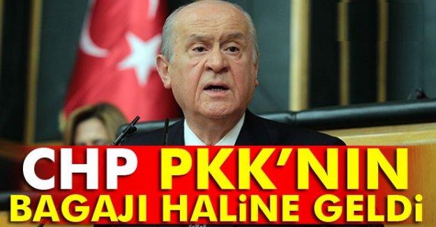 MHP Lideri Bahçeli: CHP PKK'nın bagajı haline geldi