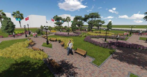 Osmanlı Parkı Yeni Kimliğine Kavuşuyor
