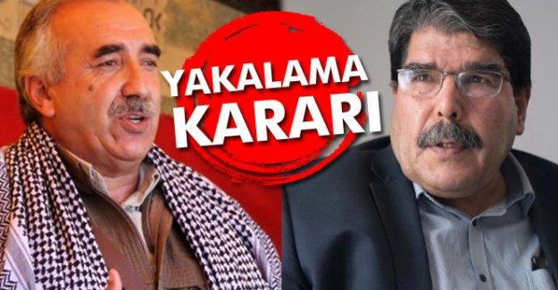 PYD ve PKK liderlerine yakalama kararı