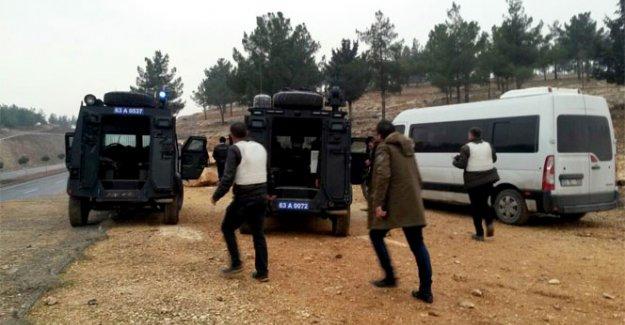 Şanlıurfa'da polise saldırı