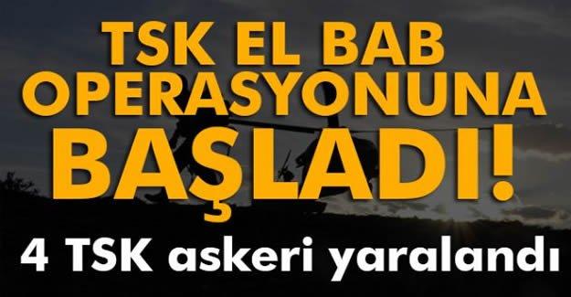 TSK, El Bab operasyonuna başladı!