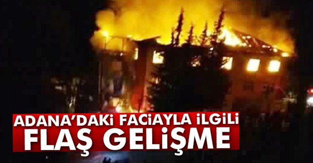 Adana'ki Faciayla İlgili Flaş Gelişme!