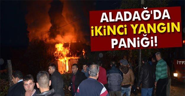 Aladağ'da İkinci Yangın Paniği
