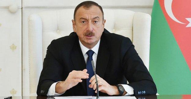 Aliyev'den başsağlığı mesajı