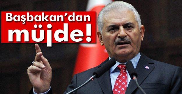 Başbakan Yıldırım'dan Müjde!