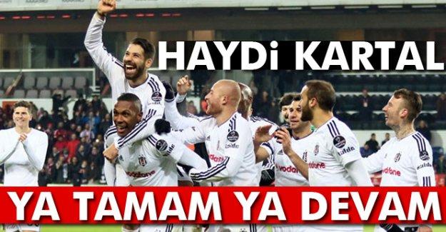 Beşiktaş Kiev'de ya tamam ya devam diyecek