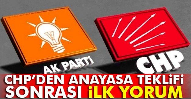 CHP Grup Başkanvekili Levent Gök'ten anayasa teklifi yorumu
