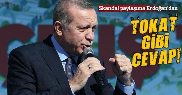 Cumhurbaşkanı Erdoğan'dan Emin Çapa'ya tokat gibi cevap!