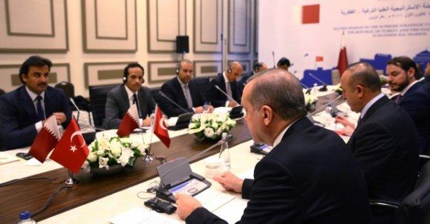 Cumhurbaşkanı Erdoğan ve Katar Emiri Al Sani Trabzon'da