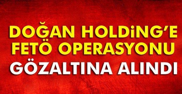 Doğan Holding'e FETÖ'den operasyonu