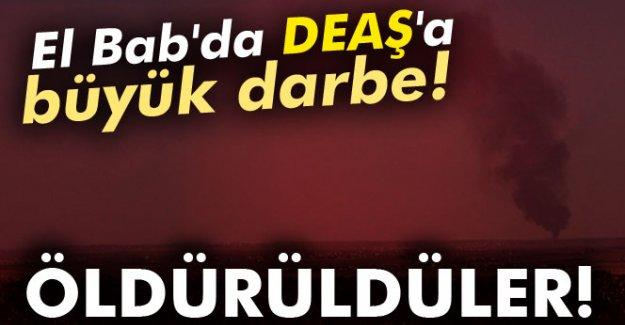 El Bab bölgesinde DEAŞ'a büyük darbe!