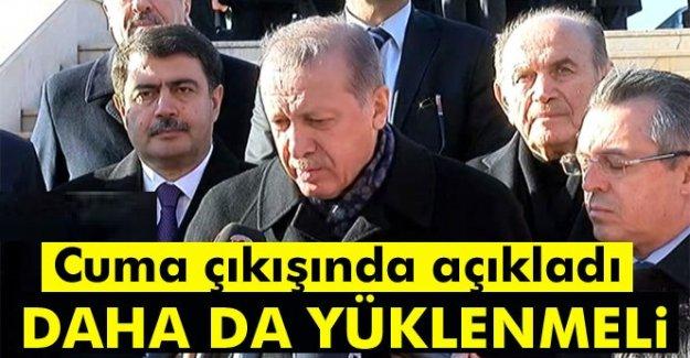 Erdoğan: Milletim TL'ye geçişe daha da yüklenmeli