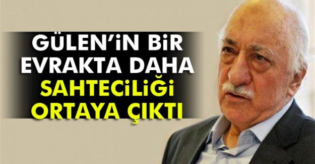 Fetullah Gülen belgede sahtecilik yaparak yeşil pasaport almış