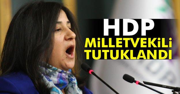 HDP Milletvekili Demirel tutuklandı
