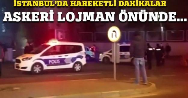 İstanbul'da hareketli dakikalar!